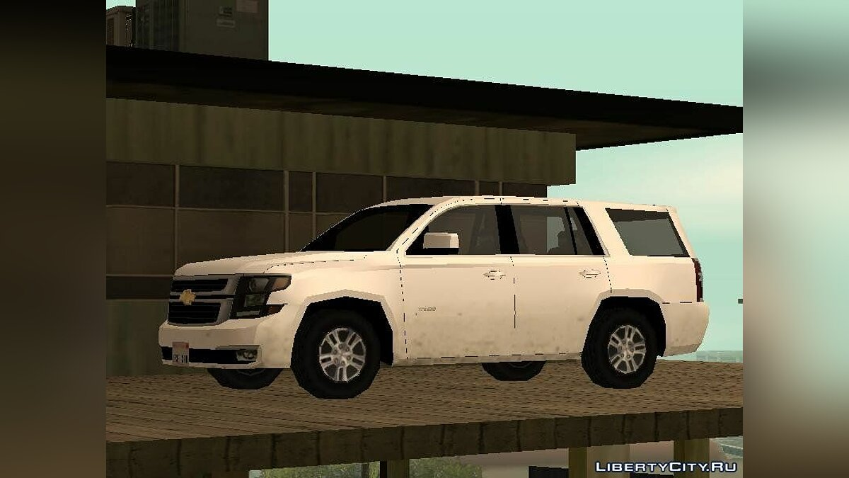 Chevrolet car Chevrolet Tahoe 2015 SA Style for GTA San Andreas