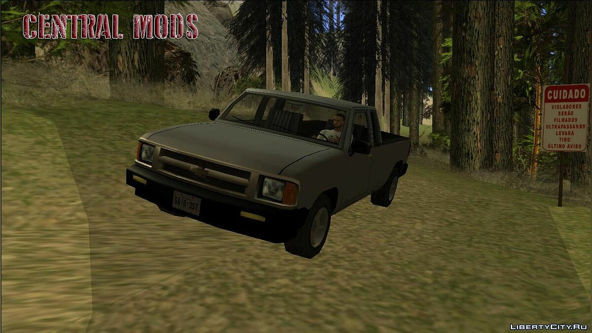 Chevrolet car Chevrolet S10 - Machine for the weak PC for GTA San Andreas