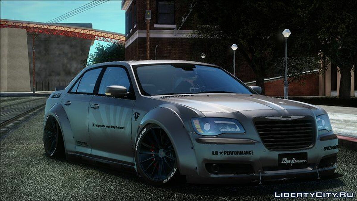 Chrysler car 2012 Chrysler 300 SRT8 Liberty Walk LB Performance for GTA San Andreas