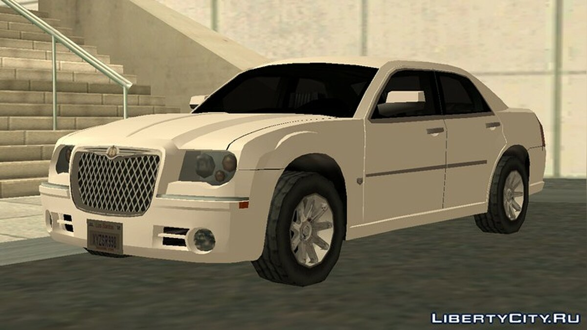 Chrysler car Chrysler 300C 2008 Low Poly for GTA San Andreas