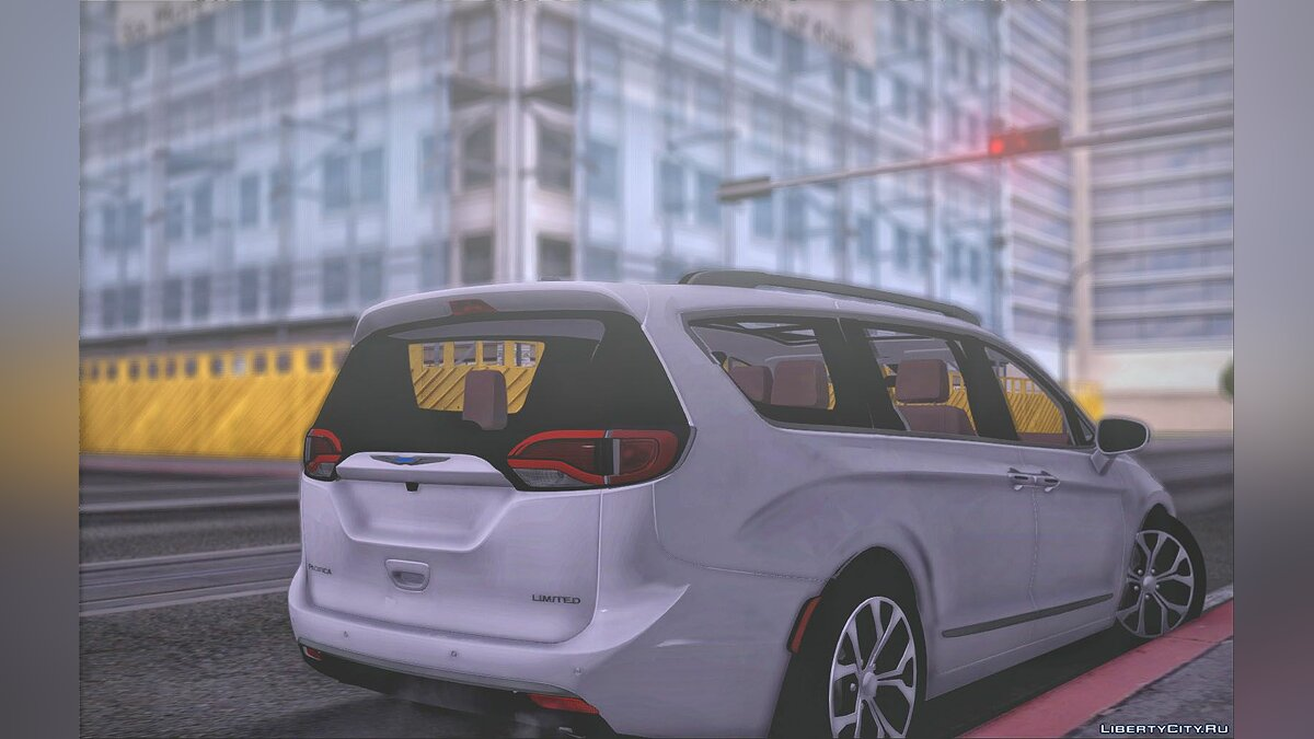 Chrysler car Chrysler Pacifica 2017 for GTA San Andreas