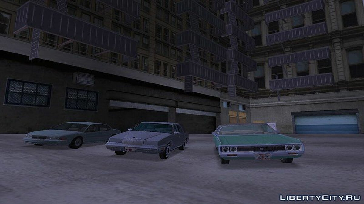 Chrysler car 1994 Chrysler LHS for GTA San Andreas