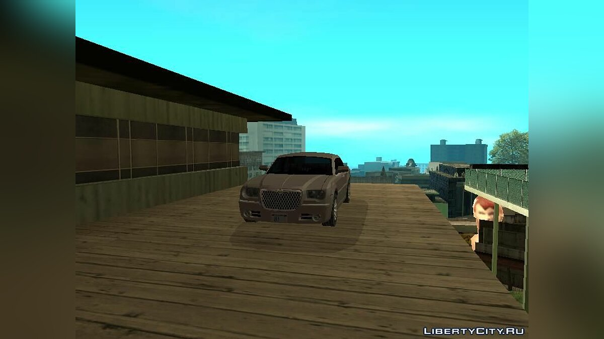 Chrysler car Chrysler 300C for GTA San Andreas