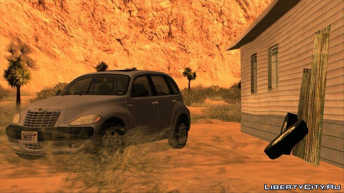 Chrysler car Chrysler PT Cruiser 2.4 Limited 2003 [Tunable] for GTA San Andreas
