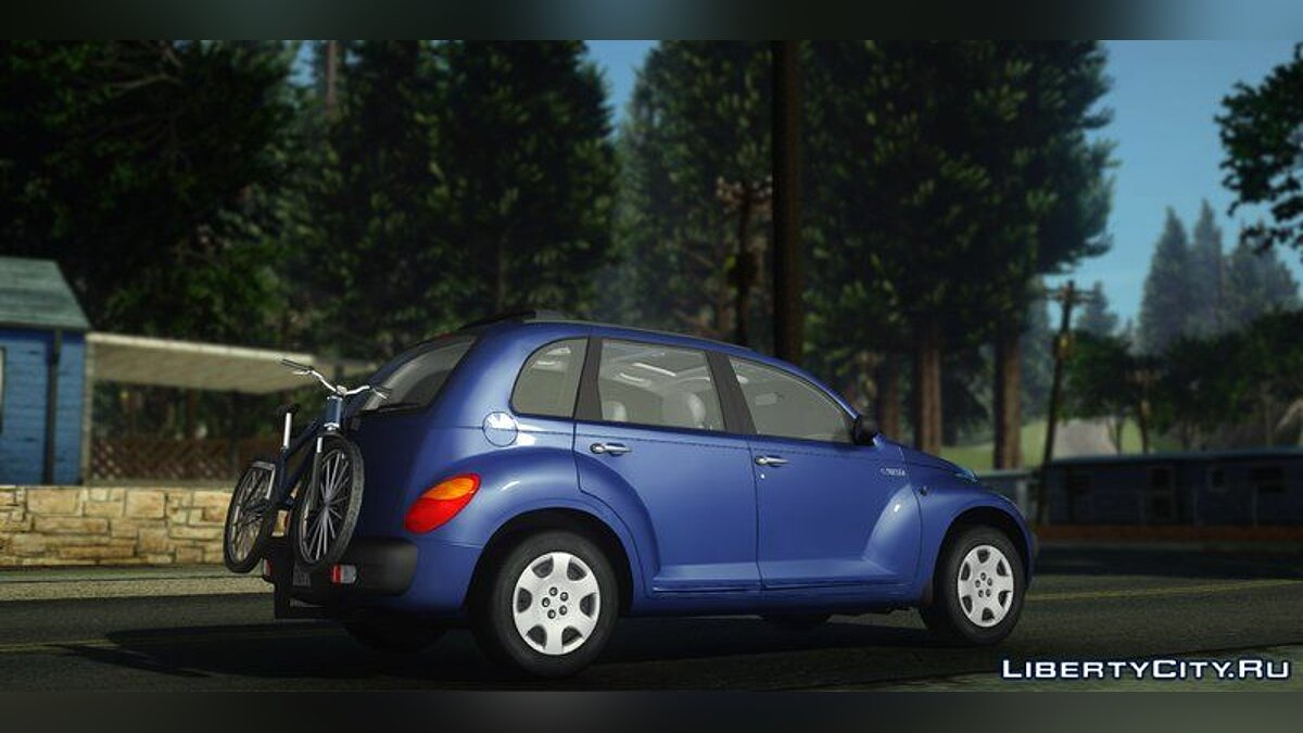 Chrysler car Chrysler PT Cruiser 2.4l 2001-2005 for GTA San Andreas