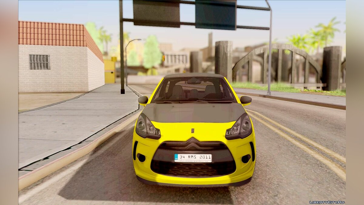 Citroën car Citroen DS3 Sport 2011 for GTA San Andreas