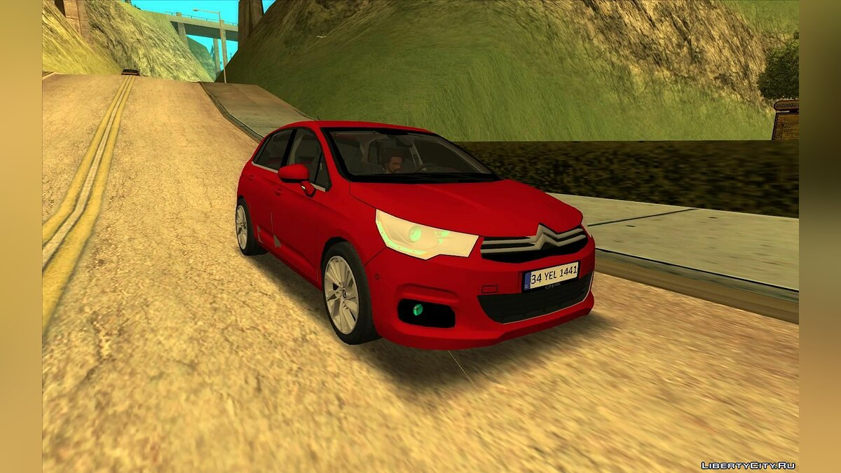 Citroën car Citroen C4 2012 for GTA San Andreas