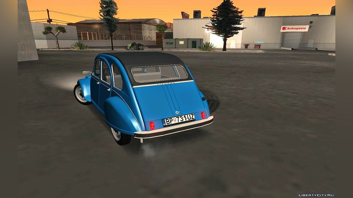 Citroën car Citroen 2CV for GTA San Andreas