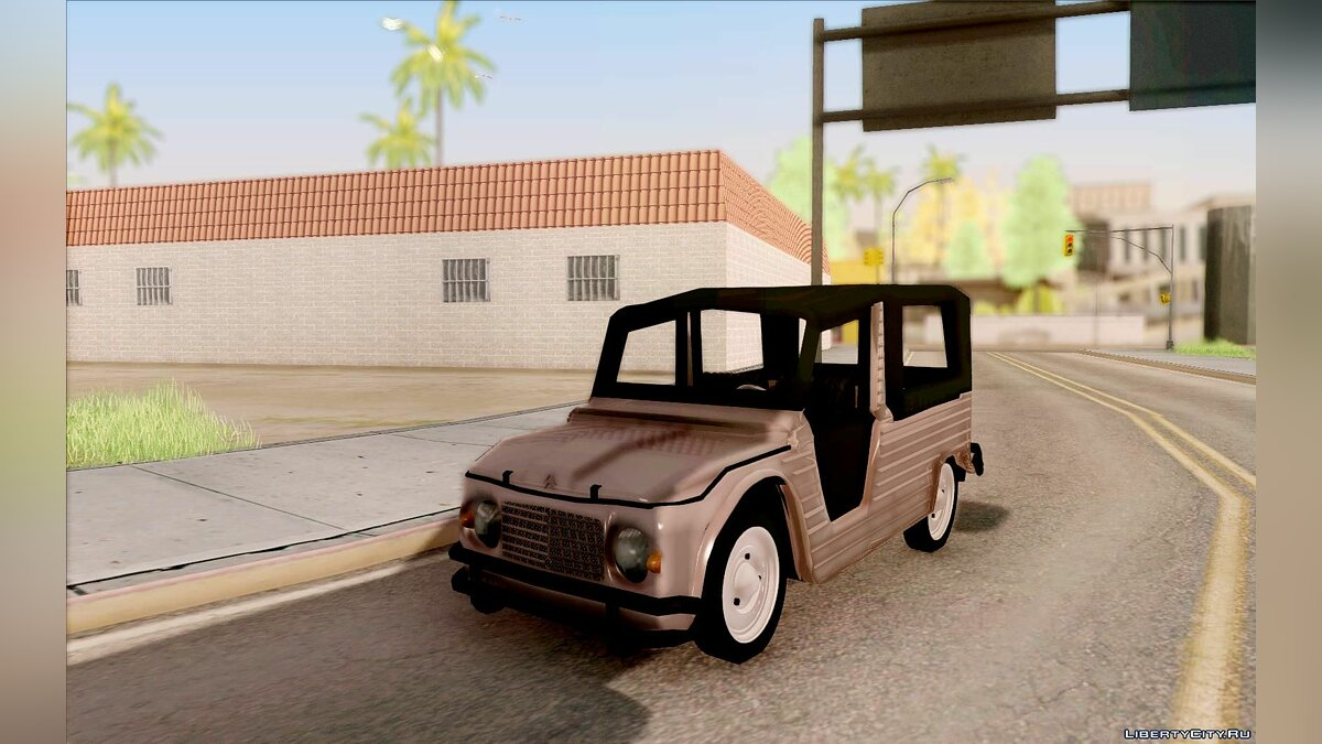 Citroën car Citroen Mehari for GTA San Andreas