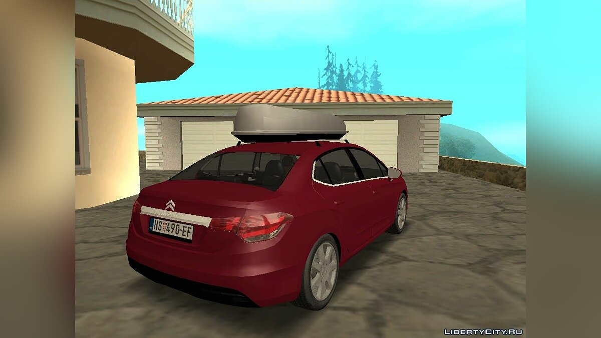 Citroën car Citroen C4 Lounge for GTA San Andreas