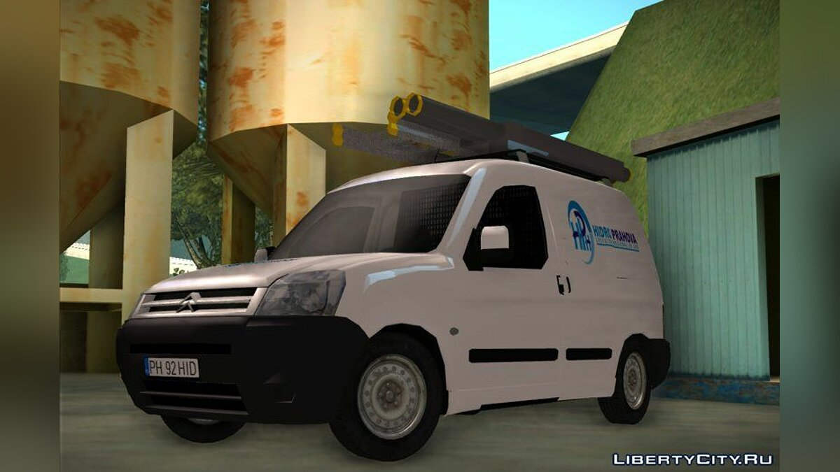 Citroën car Citroen Berlingo - HidroPrahova Edition for GTA San Andreas