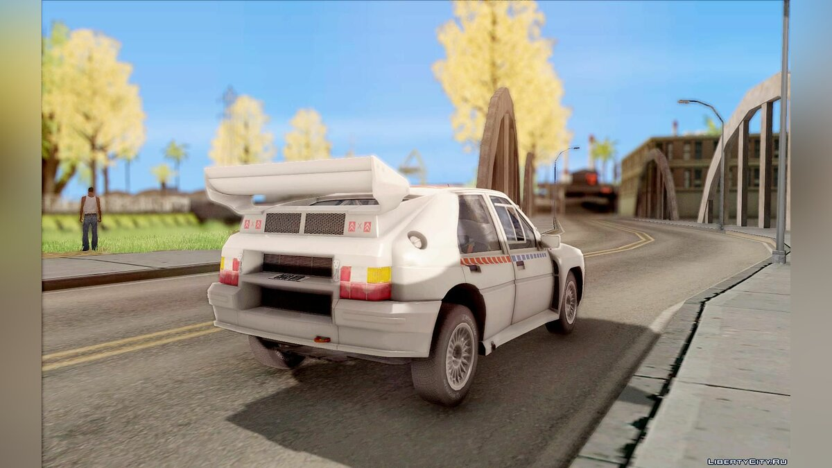 Citroën car Citroen BX 4TC for GTA San Andreas