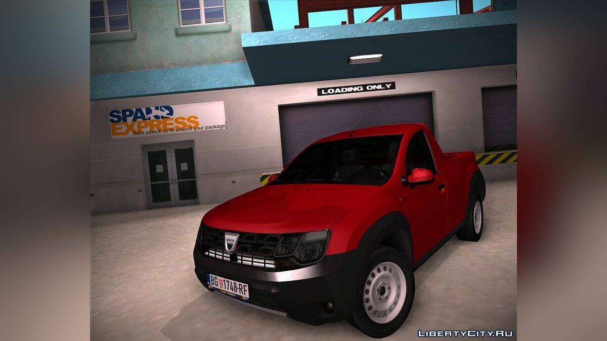 Dacia car Dacia Duster Pickup 2017 for GTA San Andreas