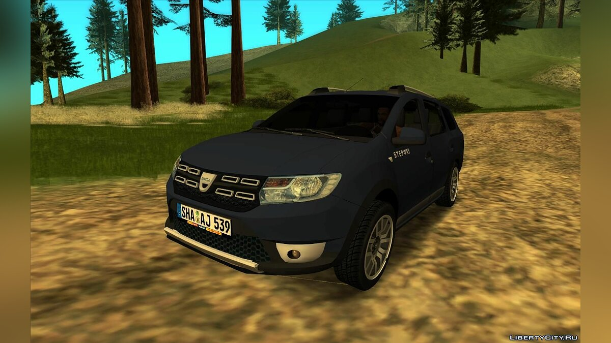 Dacia car 2018 Dacia Logan MCV Stepway for GTA San Andreas