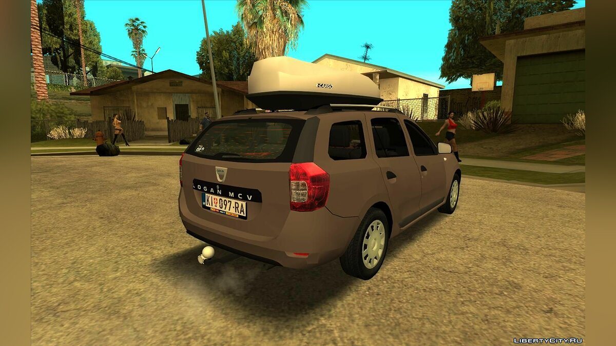 Dacia car 2018 Dacia Logan MCV for GTA San Andreas