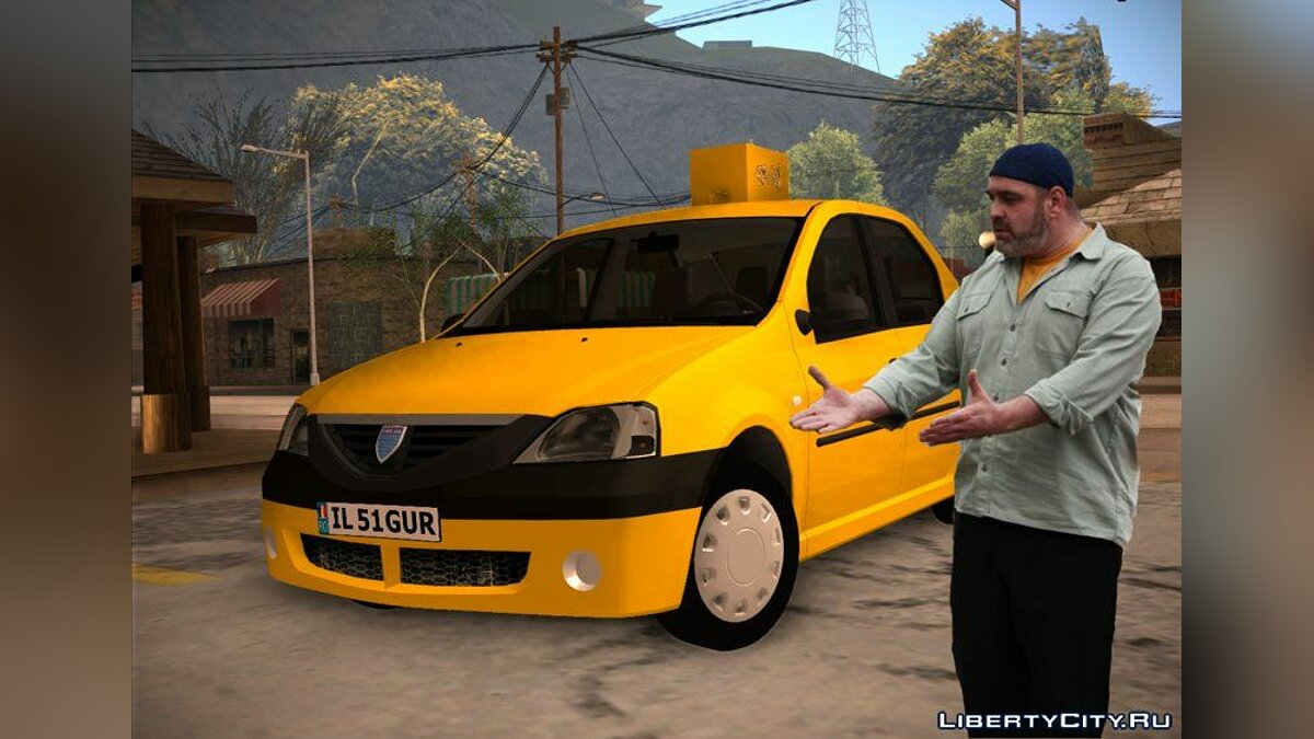 Dacia car Dacia Logan 2004 | Taxi for GTA San Andreas