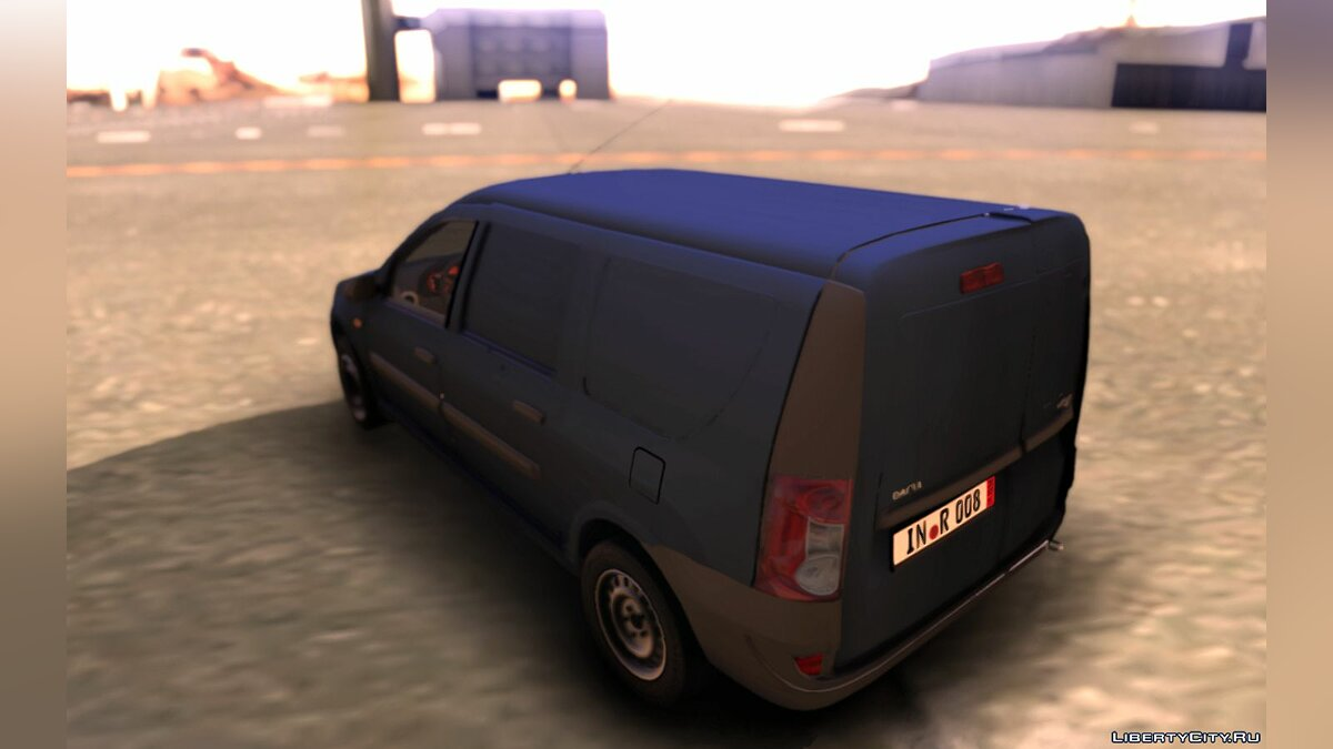 Dacia car 2007 Dacia Logan Mcv Van for GTA San Andreas