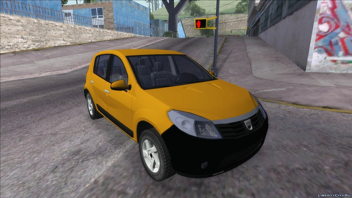 Dacia car Dacia Sandero Stepway 2011 for GTA San Andreas