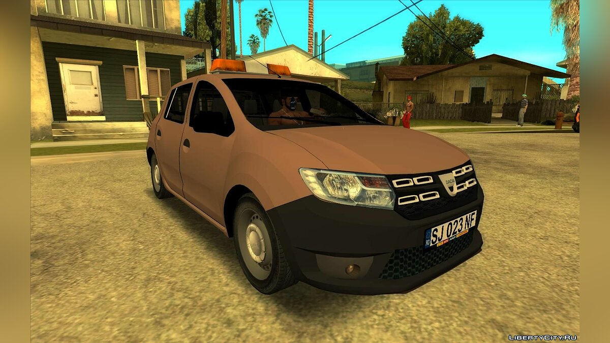 Dacia car 2018 Dacia Sandero Van for GTA San Andreas