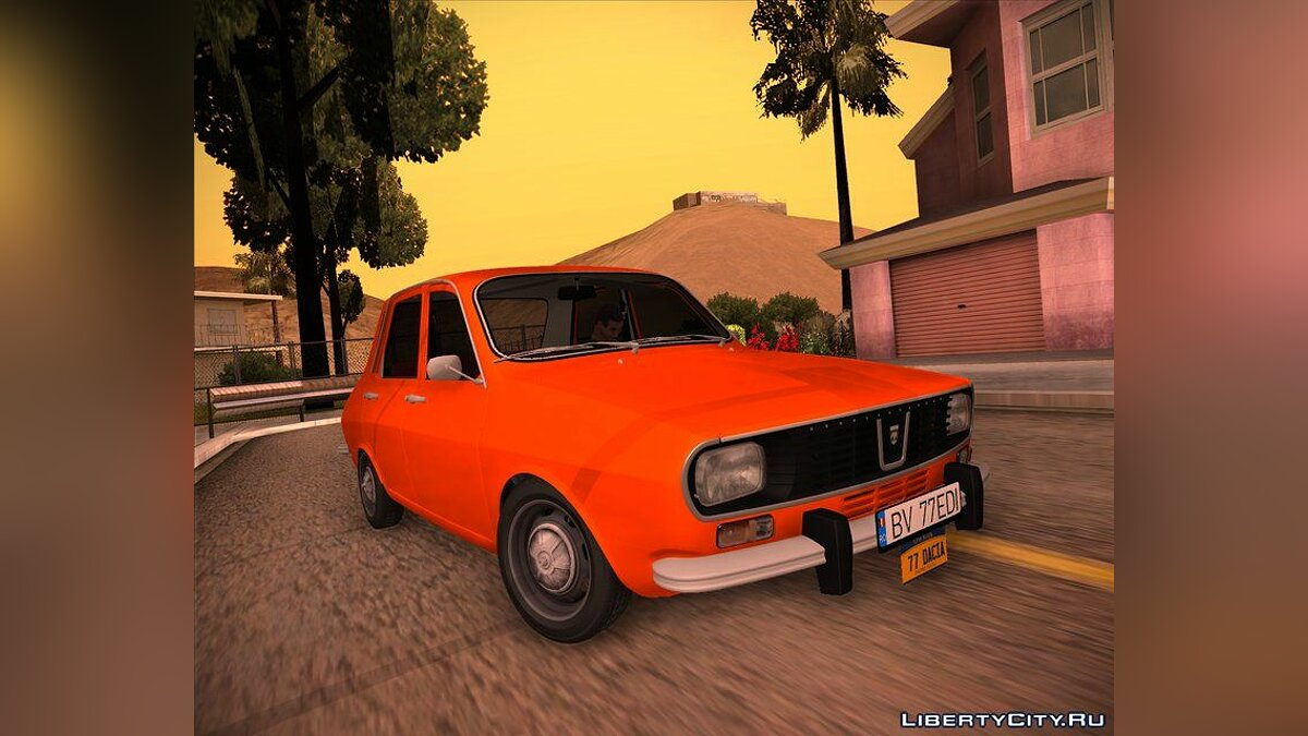 Dacia car Dacia 1300 New York for GTA San Andreas