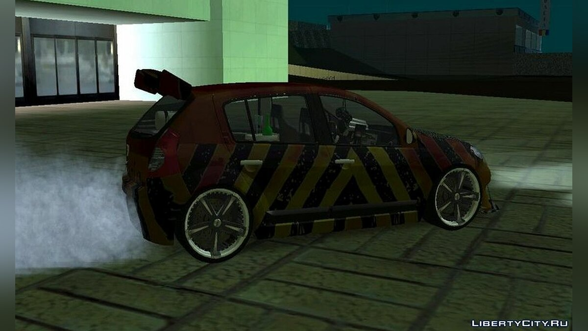 Dacia car Dacia sandero for GTA San Andreas