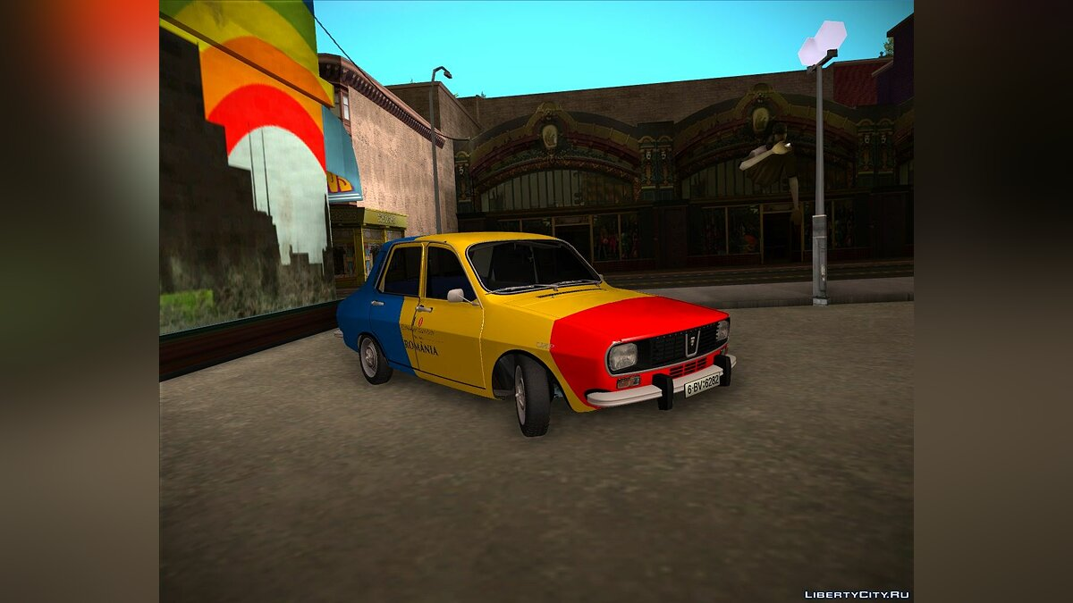 Dacia car Dacia 1300 (1978) - Restyling Centenario 2018 for GTA San Andreas