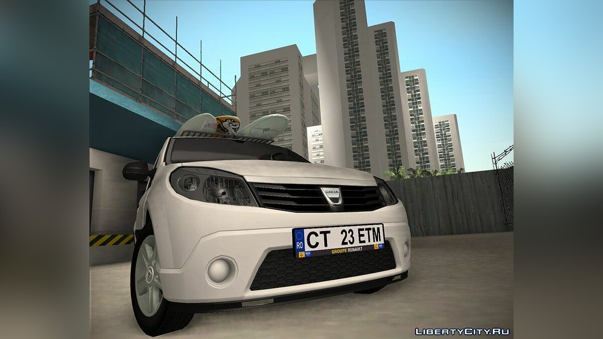Dacia car Dacia sandero pickup for GTA San Andreas