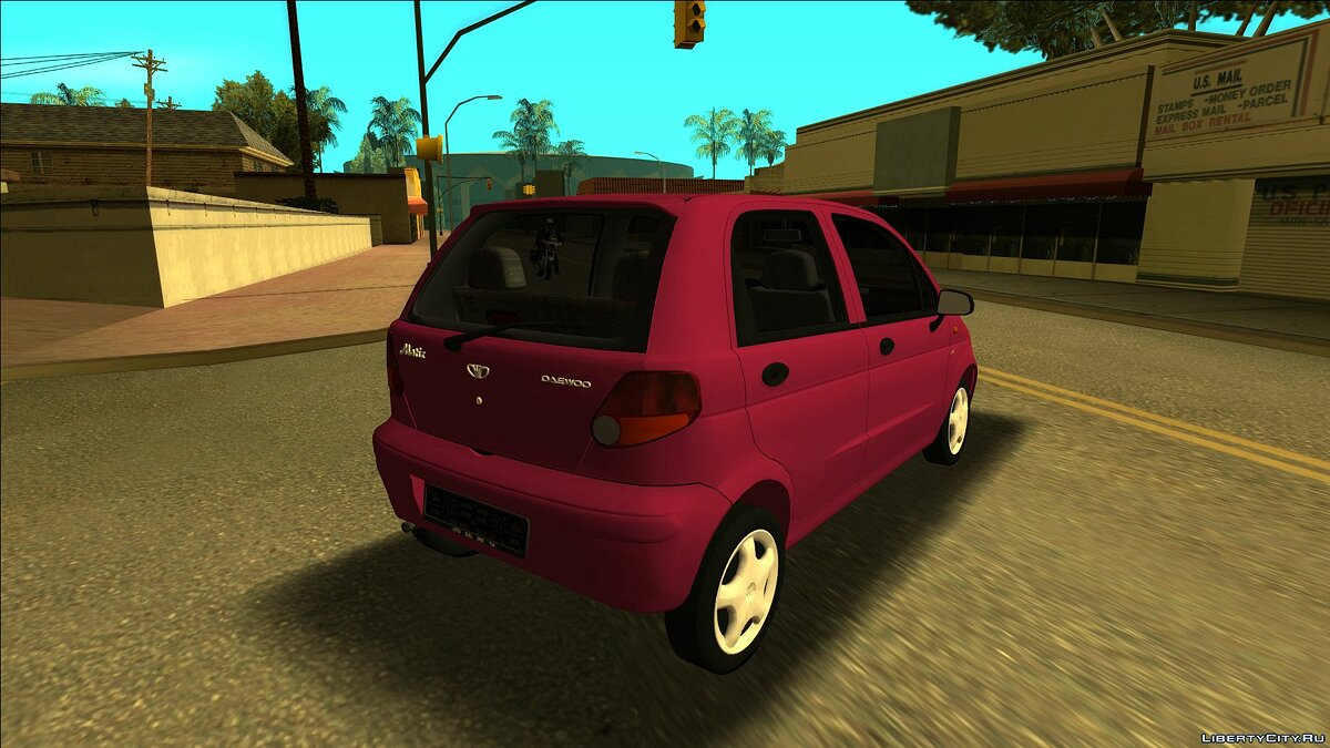 Daewoo car Daewoo Matiz I SE for GTA San Andreas