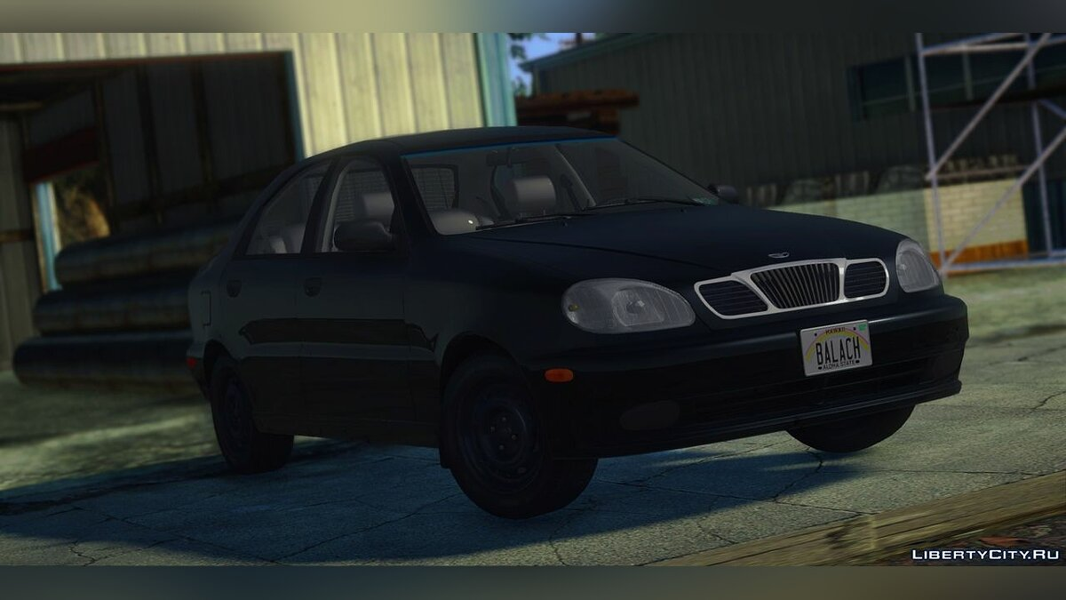 Daewoo car Daewoo Lanos S / SE / SX 1.6l 16V 1999-2001 (US-Spec) for GTA San Andreas