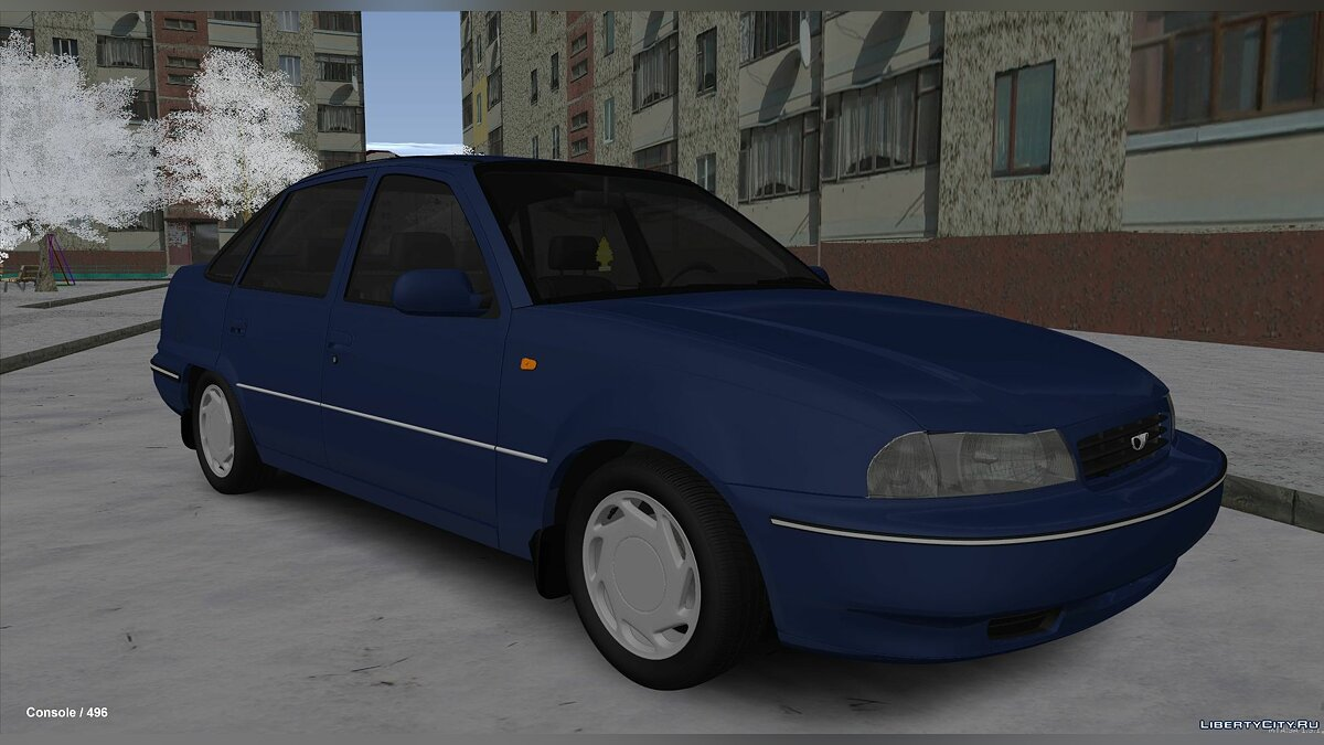Daewoo car Daewoo cielo for GTA San Andreas