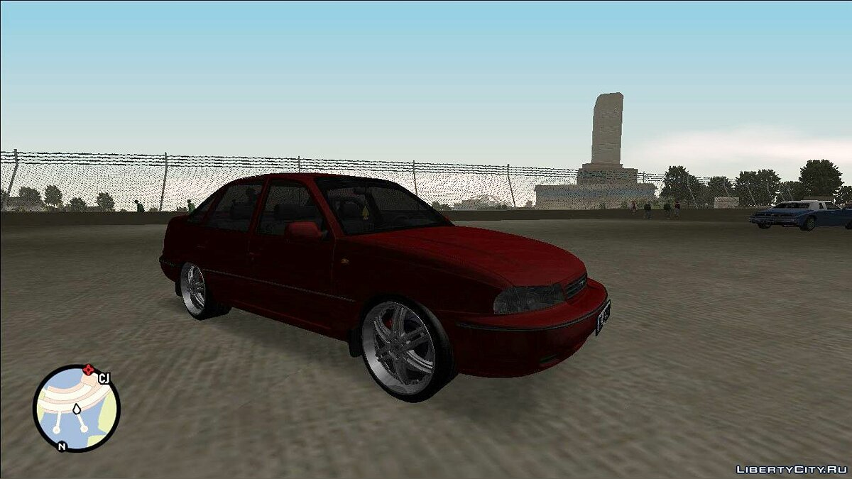 Daewoo car Daewoo Сielo 1995 for GTA San Andreas
