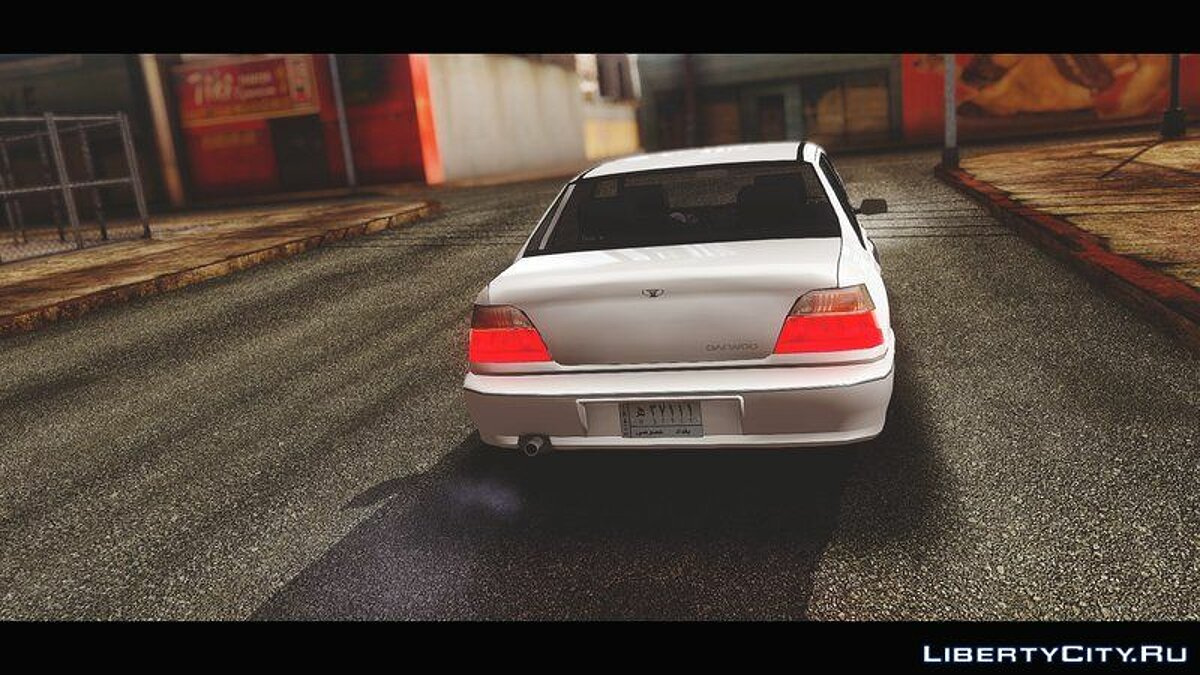 Daewoo car 1998 Daewoo Cielo 1.5 GLS (Iraqi Stock Version) for GTA San Andreas