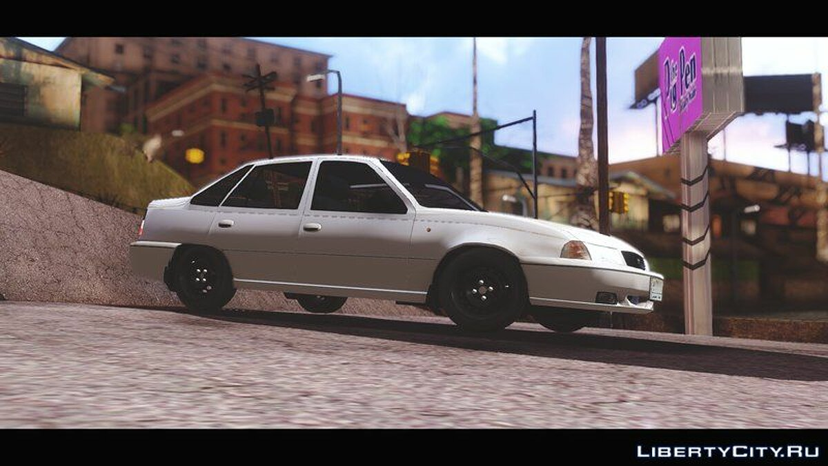 Daewoo car Daewoo Cielo 1.5 GLS 1998 (Iraqi Stock Version) for GTA San Andreas