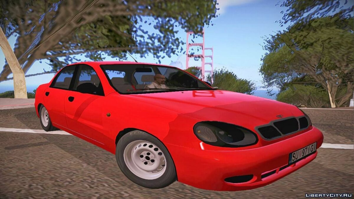 Daewoo car Daewoo lanos for GTA San Andreas