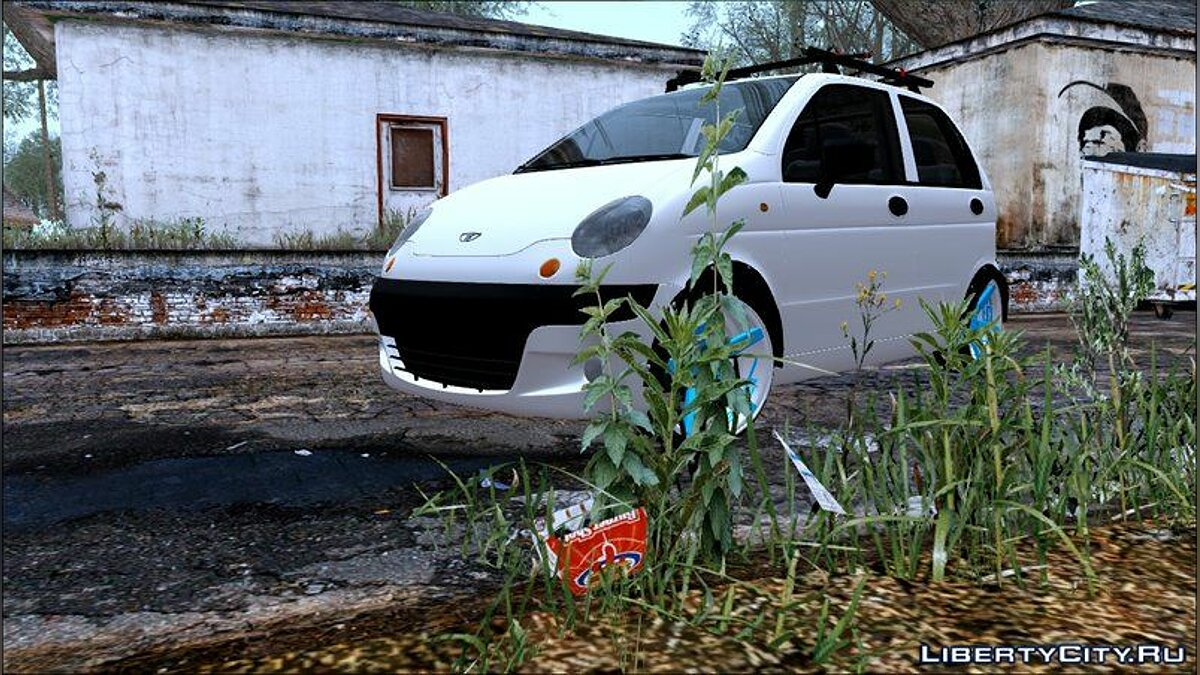 Daewoo car Daewoo Matiz 2002 for GTA San Andreas