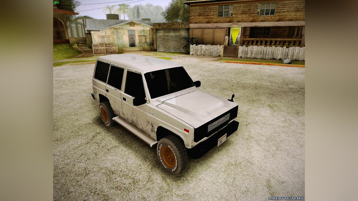 Daihatsu car Daihatsu Taft Hiline Long for GTA San Andreas
