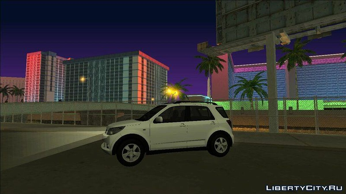 Daihatsu car Daihatsu Terios 2009 for GTA San Andreas