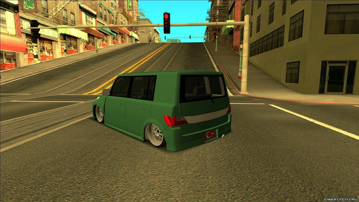 Daihatsu car Daihatsu materia for GTA San Andreas