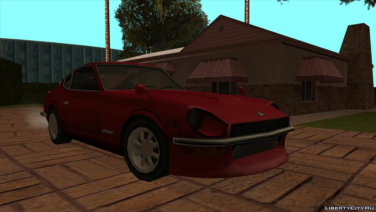 Datsun car Datsun 240Z (Fairlady) [LQ] for GTA San Andreas