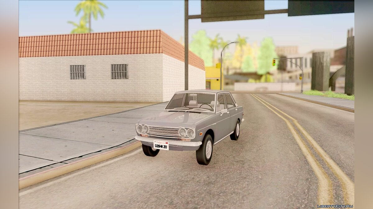Datsun car Datsun 510 4doors for GTA San Andreas