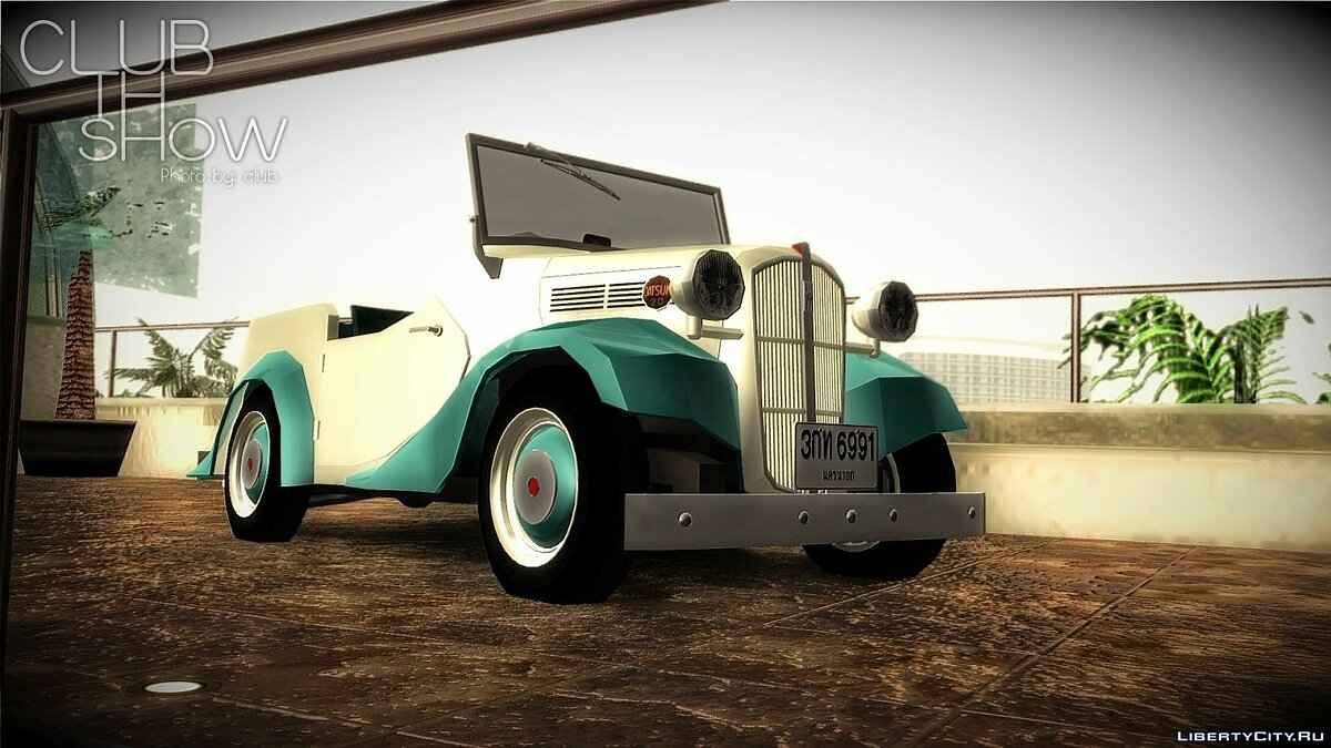 Datsun car Datsun Sports DC-3 for GTA San Andreas