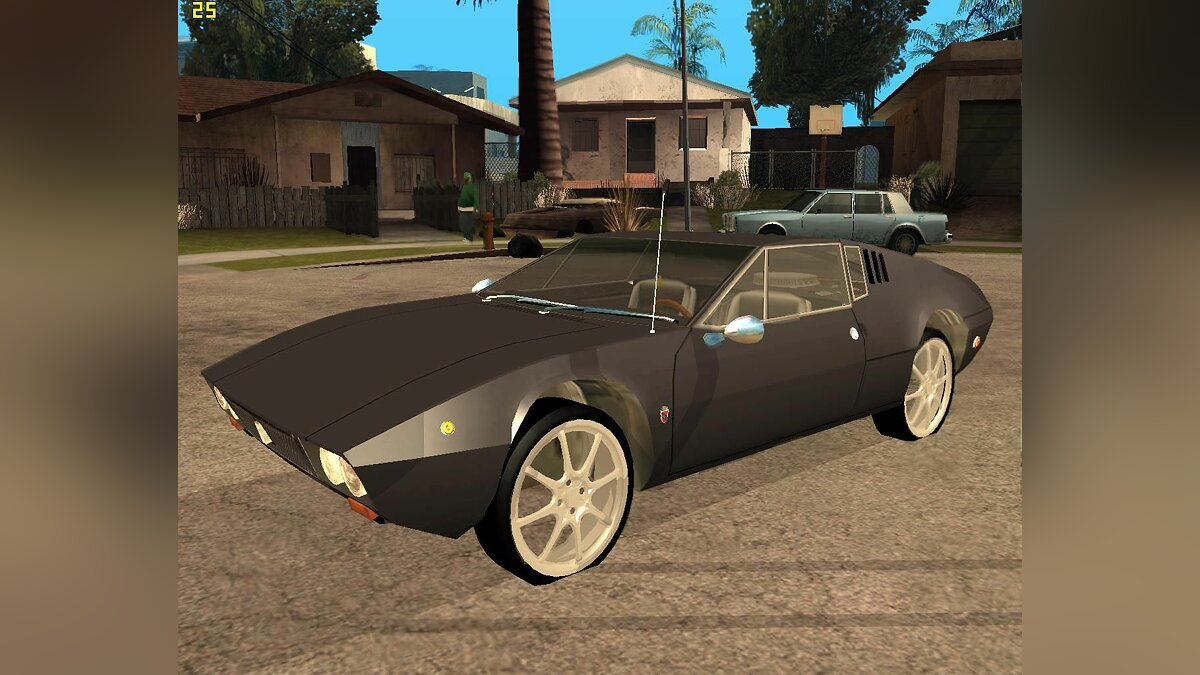 De Tomaso car De Tomaso Mangusta for GTA San Andreas