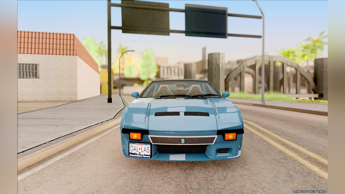 De Tomaso car De Tomaso Pantera GT4 for GTA San Andreas