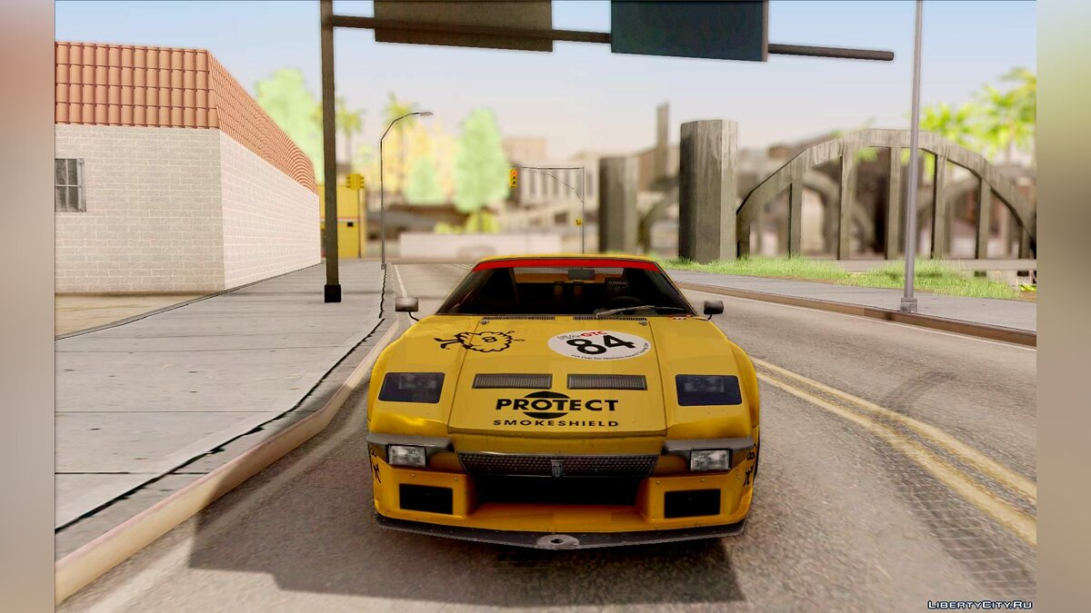 De Tomaso car 1972 De Tomaso Pantera for GTA San Andreas