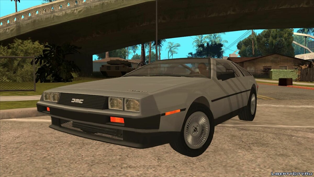 Delorean car DeLorean DMC-12 for GTA San Andreas