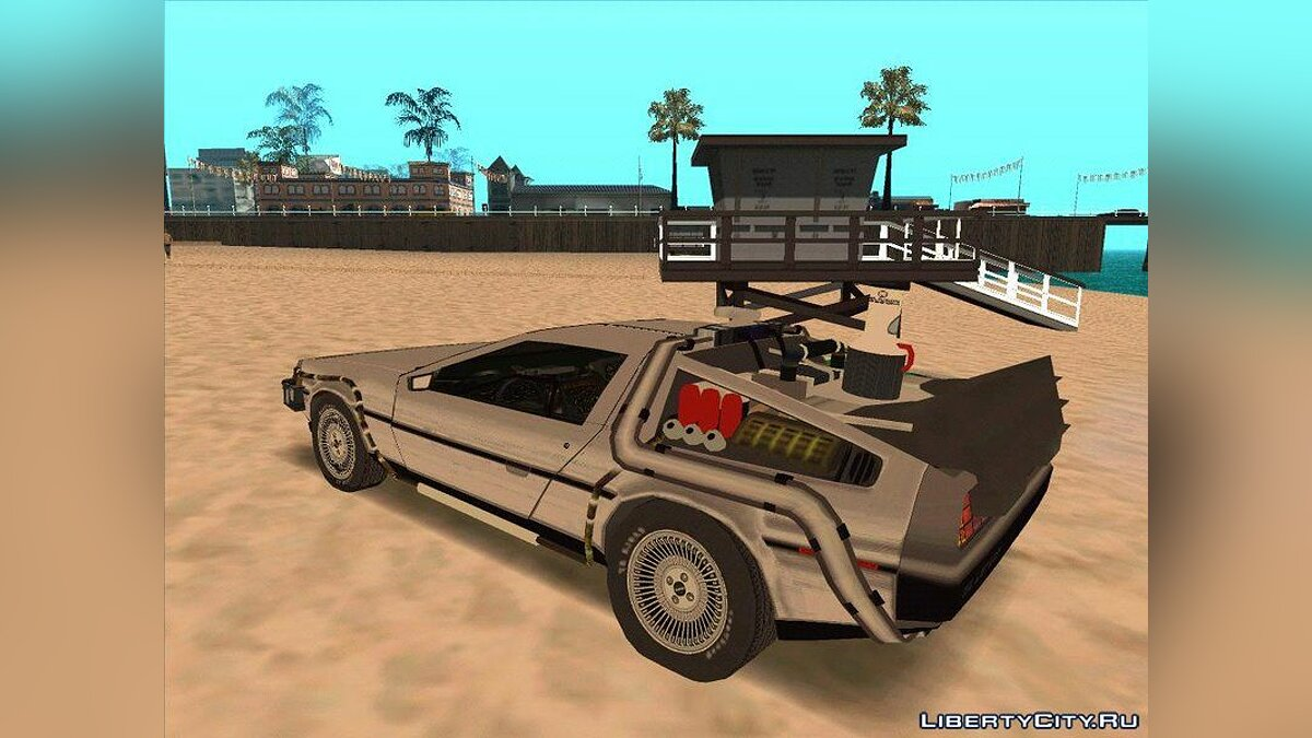 Delorean car Delorean Time Machine BTTF 2 - The car from the movie