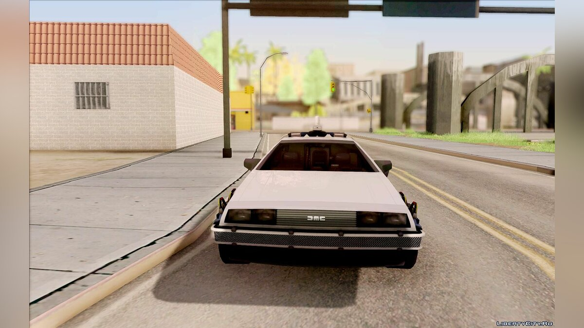 Delorean car DeLorean Time Machine (Telltale) for GTA San Andreas