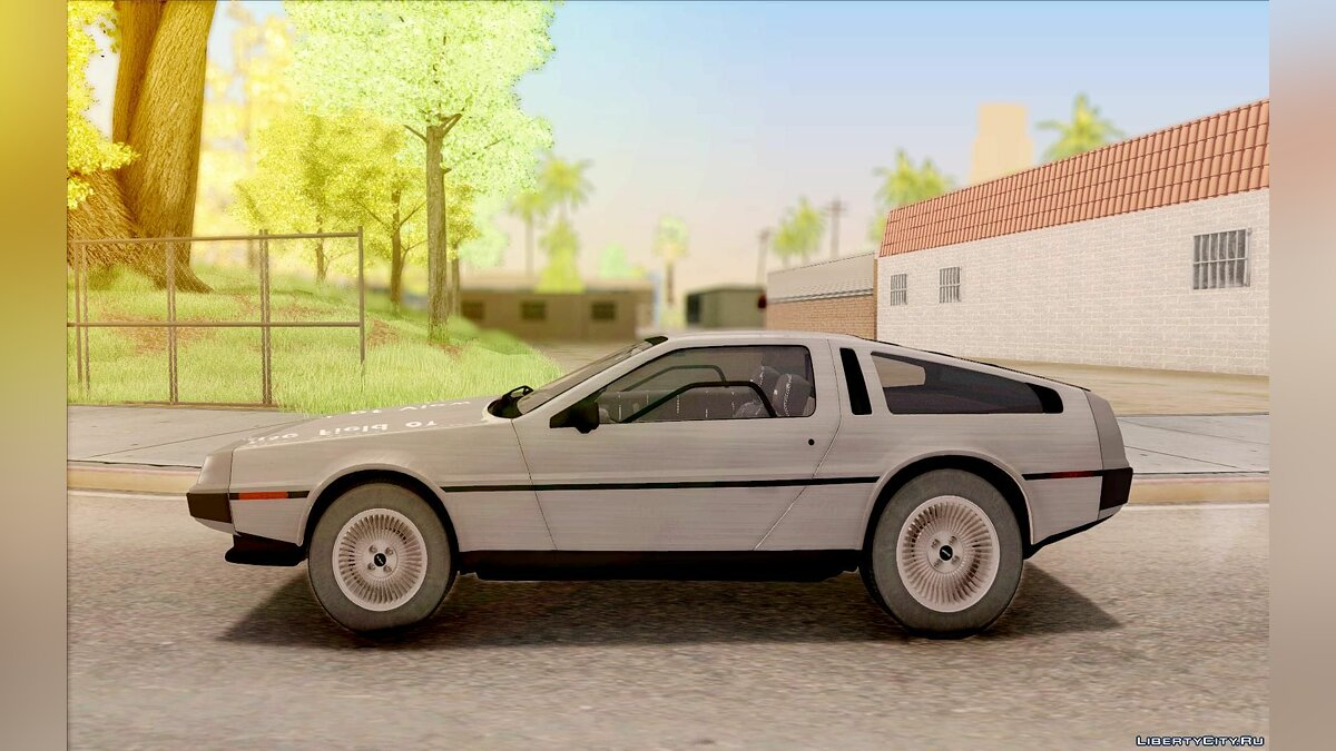 Delorean car DeLorean DMC-12 1982 for GTA San Andreas