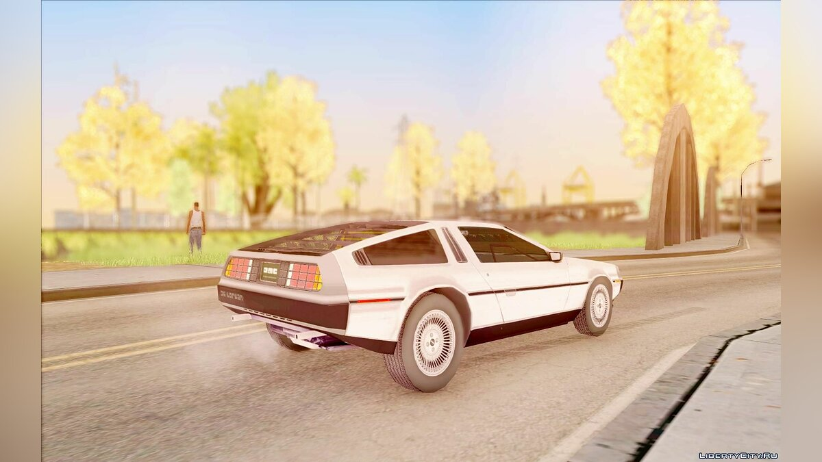Delorean car DeLorean 81 for GTA San Andreas