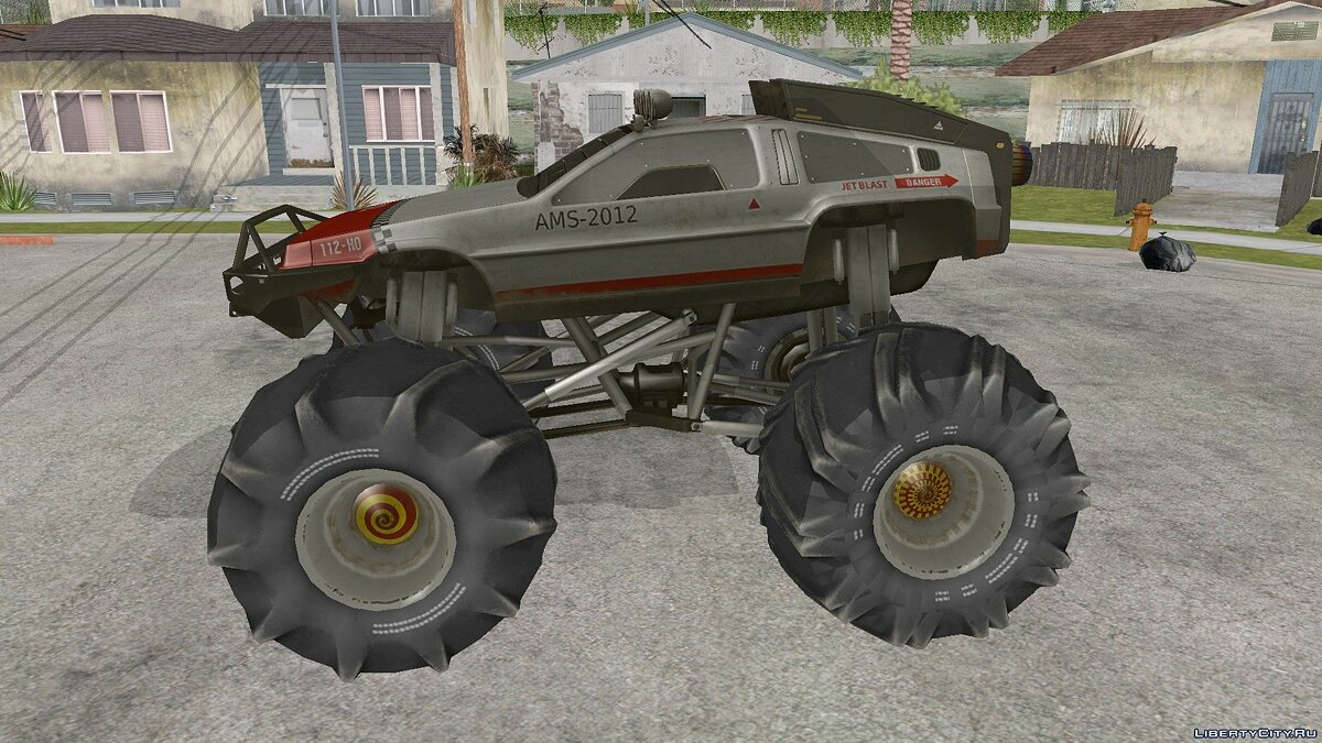 Delorean car Delorean DMC-12 Monster for GTA San Andreas